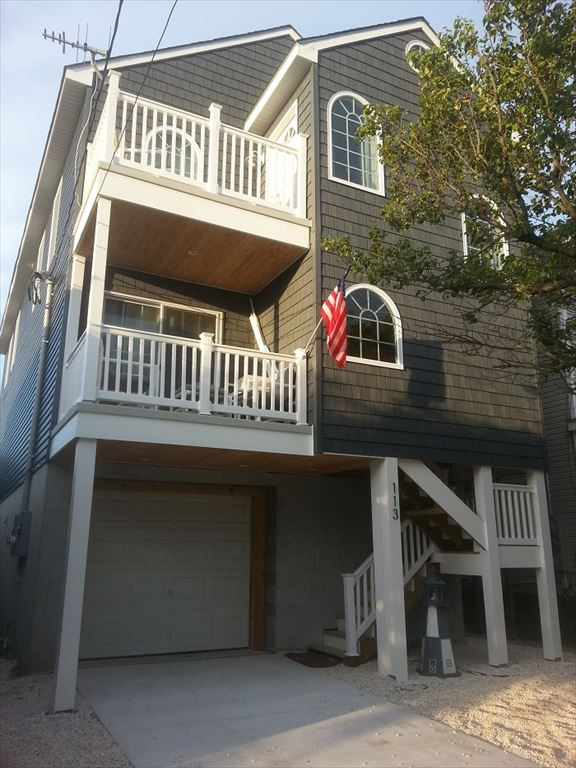 113 WEST JUNIPER AVENUE - WILDWOOD BAYSIDE SINGLE FAMILY HOME FOR RENT - 3 bedroom 2.5 bath home sleeps 8