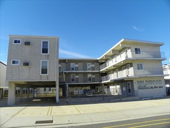 308 EAST WILDWOOD AVENUE #307 at the Wildwood by the Sea condos located in the middle of everything in Wildwood only 1 block from the beach and boards. One bedroom, one bath condo within walking distance to everything! Condo has a full kitchen with range, fridge, disposal, microwave, coffeemaker and toaster. Sleeps 6; 2 full and full sleep sofa. Amenities include wall a/c, pool, coin operated laundry, gas grill, and one car off street parking.