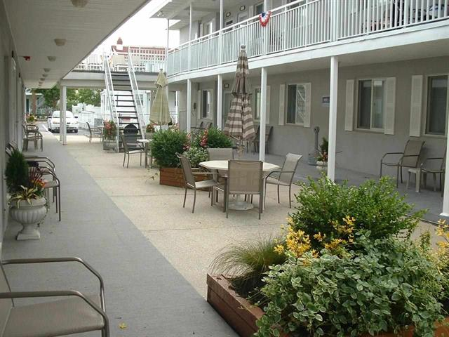 310 EAST HAND AVENUE - OCEAN BREEZE #17 -  One bedroom, one bath condo at Ocean Breeze in Wildwood. Condo has range, fridge, microwave, toaster, coffeemaker. Sleeps 6; 2 full, and queen sleep sofa. Amenities include central a/c, wifi, common area washer/dryer, balcony, outside shower, and one car off street parking.
