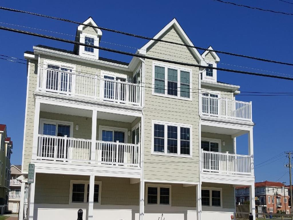 329 EAST 25TH AVENUE #109 - HAWAIIAN BEACH RESORT RENTAL IN NORTH WILDWOOD - Brand New for 2019! Four bedroom , two bath vacation rental located in the Hawaiian Beach condos. Home offers a full kitchen with range, fridge, dishwasher, disposal, icemaker, microwave, blender, Keurig, coffeemaker, toaster and crock pot. Amenities include central a/c, washer/dryer, wifi, outside shower, 2 car off street parking and an additional street/metered parking pass, 2 balconies, owner's private gas grill, and pool. Sleeps 11; king, 2 queen, full/twin bunk, and queen sleep sofa. North Wildwood Rentals, Wildwood Rentals, Wildwood Crest Rentals and Diamond Beach Rentals in all price ranges for weekly, monthly, seasonal and weekend vacation rentals plus Wildwood real estate sales of homes, condos, vacation and investment properties in and around Wildwood New Jersey. We offer over 400 properties plus exclusive vacation homes so you can book the shore rental of your choice online and guarantee your vacation at the Shore. Rent with confidence at Island Realty Group!