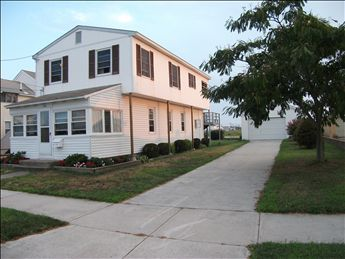 North Wildwood Home for Rent, Island Realty Group, 109 E 25th Avenue, North Wildwood Rentals, North Wildwood Vacation Rentals