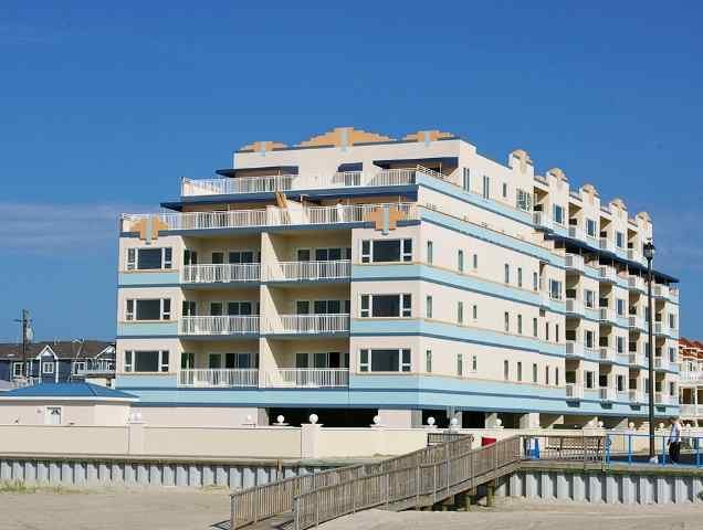 450 East Nashville Wildwood Crest - The Royal Beach - Beachfront location with oceanfront pool and oceanviews from the home! If location is everything this unit has it all! Three bedroom, two bath home offers a full kitchen with range, fridge, icemaker, dishwasher, microwave, toaster and coffeemaker. Sleeps 9; king, queen, full/twin bunk, and queen sleep sofa. Amenities include: pool, grill, elevator, 2 car off street parking, central a/c, washer/dryer, and oceanviews!