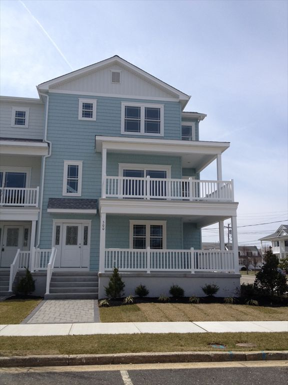 North Wildwood Rentals at 500 East 12th Avenue - Four bedroom, 3.5 bath vacation home located beach block in North Wildwood.