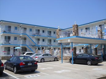 510 E 3rd AVENUE - COMMODORE CONDOS #304 - NORTH WILDWOOD RENTALS offered by ISLAND REALTY GROUP, NORTH WILDWOOD REALTORS- One bedroom, one bath condo located at the Commodore Condominiums. Ocean view from the balcony, pool, less than a block to the beach! Kitchen includes stovetop, fridge, microwave, toaster and coffeemaker. Sleeps 4; full in the bedroom, one full sleep sofa in the living room. Amenities include wall a/c in the bedroom, pool, outside shower, one car off street parking.