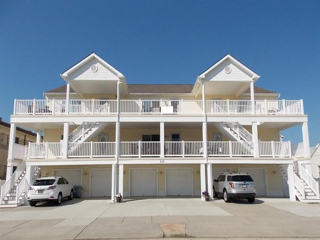510 EAST 11TH AVENUE - UNIT F - NORTH WILDWOOD BEACHBLOCK SUMMER VACTION RENTALS - Completely renovated and professionally decorated for 2019! Three bedroom, two bath vacation home is steps from the beach with ocean views! Home offers a full kitchen with range, fridge, dishwasher, microwave, blender, toaster, icemaker and coffeemaker. Sleeps 8; king, queen, 2 twin and queen sleep sofa. Amenities include central a/c, washer/dryer, wifi, 3 car off street parking, outside shower! North Wildwood Rentals, Wildwood Rentals, Wildwood Crest Rentals and Diamond Beach Rentals in all price ranges for weekly, monthly, seasonal and weekend vacation rentals plus Wildwood real estate sales of homes, condos, vacation and investment properties in and around Wildwood New Jersey. We offer over 400 properties plus exclusive vacation homes so you can book the shore rental of your choice online and guarantee your vacation at the Shore. Rent with confidence at Island Realty Group! Visit www.wildwoodrents.com to book online or call our office at 609.522.4999. Our office at 1701 New Jersey Avenue in North Wildwood is open 7 days a week!